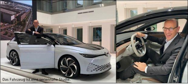 VW ID.6 - Aero B Studie